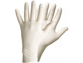 Latexové rukavice XL